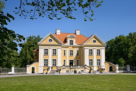 Palmse manor house, Lahemaa National Park, Baltic Sea, Estonia, Baltic States, North Europe