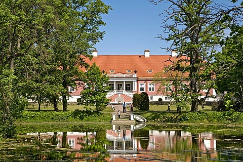 Sagedi manor house, Lahemaa National Park, Baltic Sea, Estonia, Baltic States, North Europe