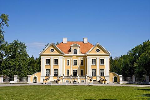 Palmse manor house, Lahemaa National Park, Baltic Sea, Estonia, Baltic States, North Europe