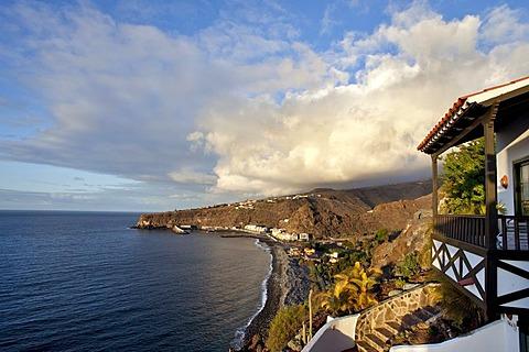Jardin Tecina Hotel, Playa Santiago, La Gomera, Canary Islands, Spain, Europe