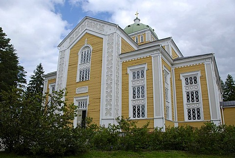 World's largest wooden church in Kerimaeki, Finland, Europe