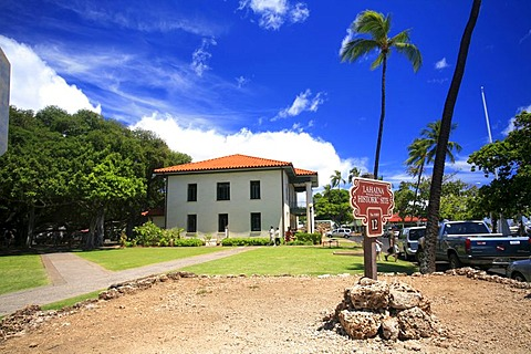 Historic building, Lahaina, Maui, Hawai'i, Hawaii, USA