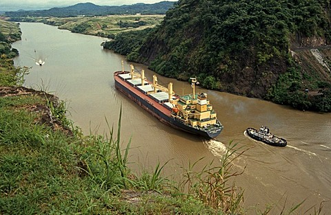 Panama Canal, Panama, Central America
