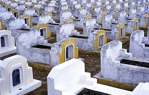 Military cemetery, Quy Nhon, Vietnam, Asia