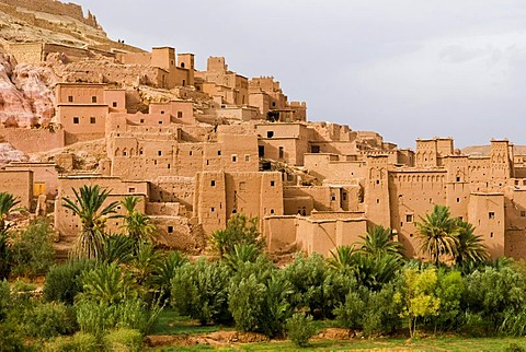 Gladiator film set, kasbahs in Aid Benhaddou, Morocco, Africa