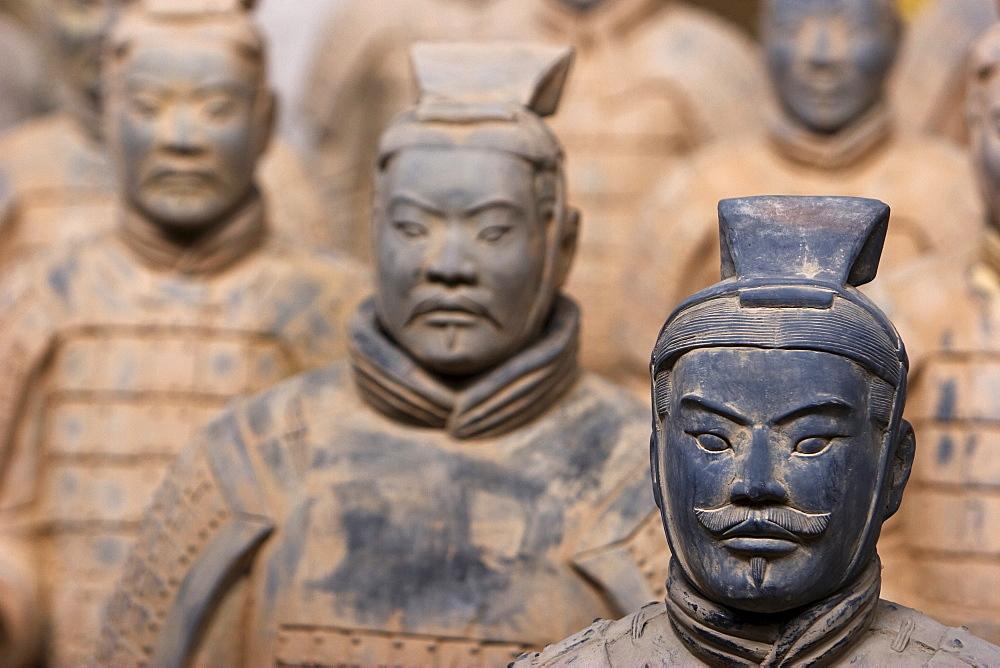 Terracotta warriors, reproductions