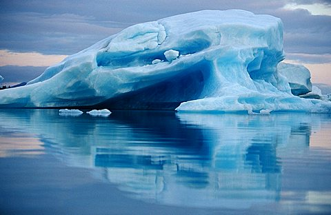 Iceberg, Kenai Fjords National Park, Alaska, USA