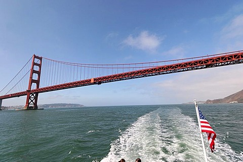 Golden Gate Bridge, San Francisco, California, North America, USA