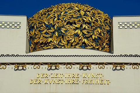 Art nouveau Der Zeit Ihre Kunst Der Kunst Ihre Freiheit Vienna Austria