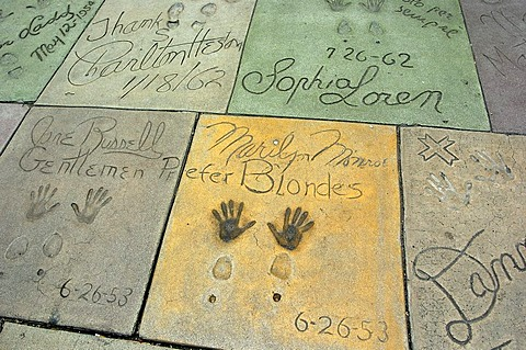 Walk of Fame, Hollywood, Los Angeles, USA