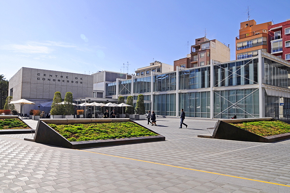 Convention center, Elche, Elx, Alicante, Costa Blanca, Spain