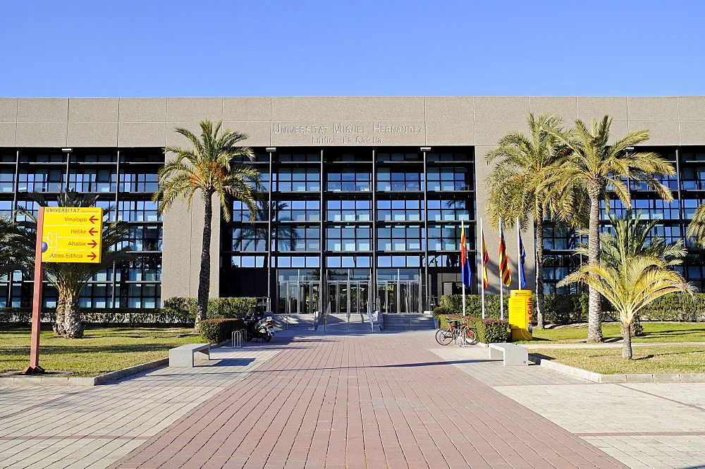 University, Elche, Elx, Alicante, Costa Blanca, Spain