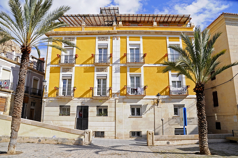 Municipal Office for Education, Quijano Square, Alicante, Costa Blanca, Spain, Europe