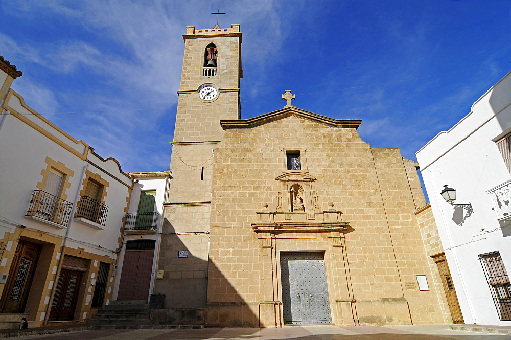 Santa Maria Magdalena Church, Benitatxel, Benitachell, Alicante, Costa Blanca, Spain