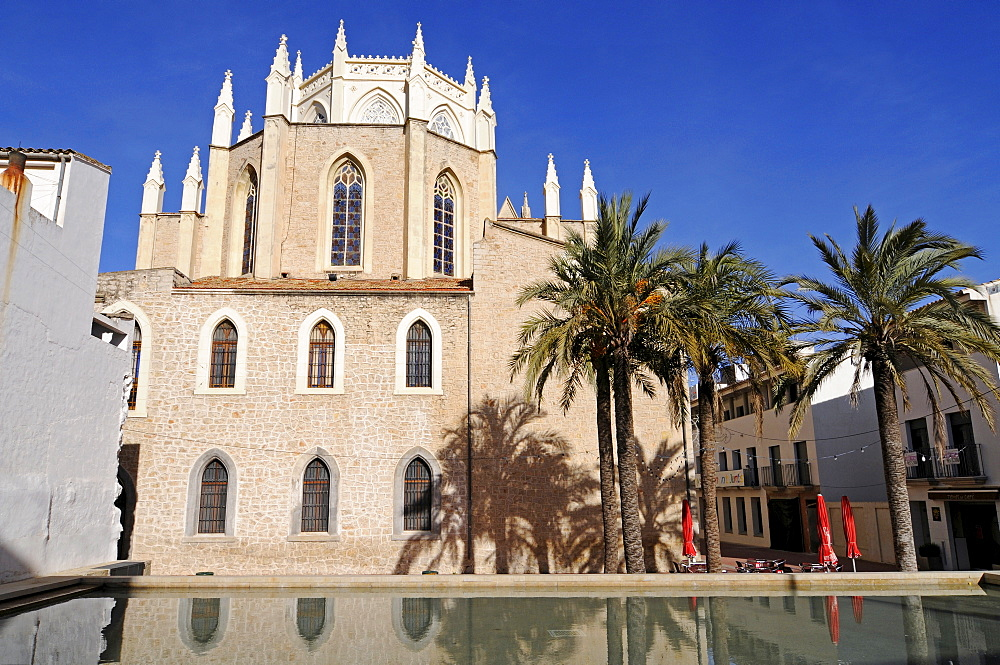 Church, Iglesia de la Purissima Xiqueta, Benissa, Alicante, Costa Blanca, Spain