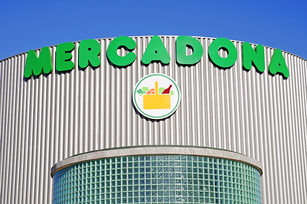 Mercadona, grocery store, Calpe, Alicante, Costa Blanca, Spain