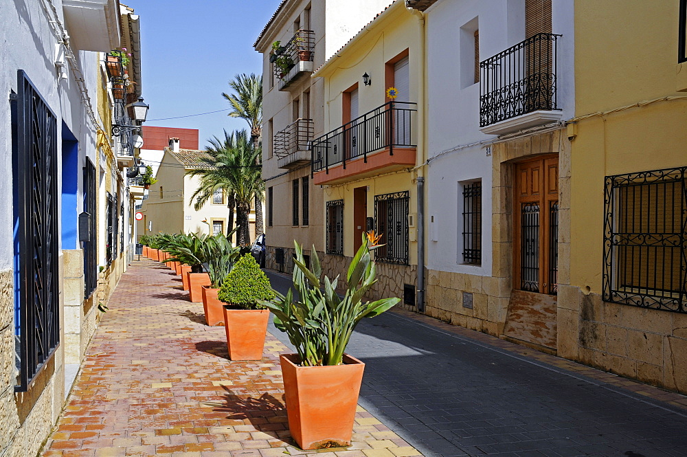 Historic centre of La Nucia, Alicante, Costa Blanca, Spain