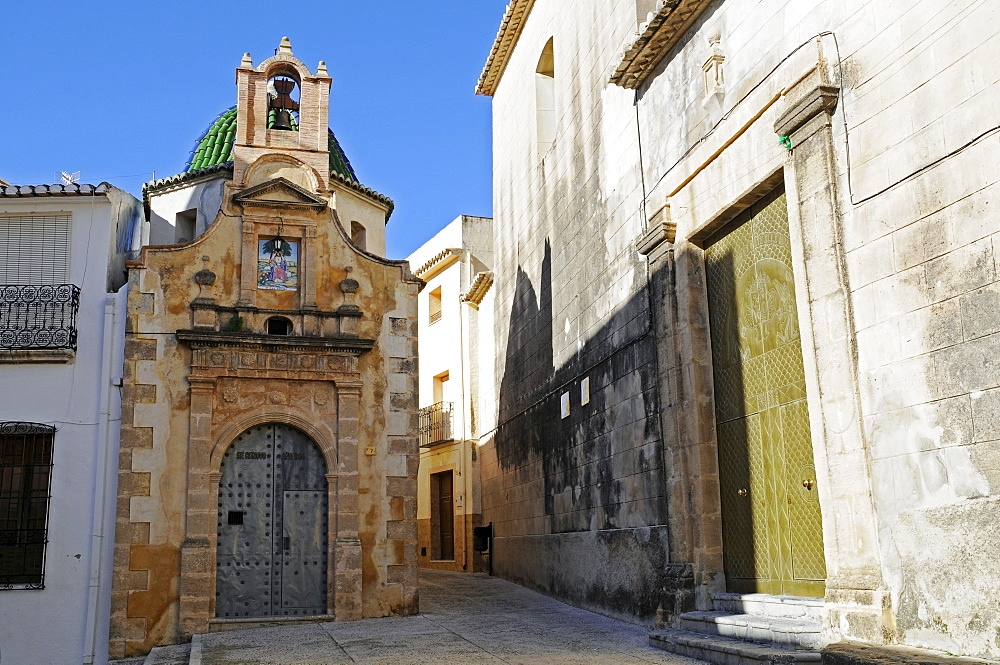Santa Catalina Church, Divina Pastora Chapel, Teulada, Alicante, Costa Blanca, Spain