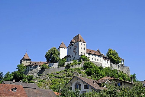 Burgdorf Castle, museum, Helvetian Museum of Gold, Museum of Ethnology, Burgdorf, Canton of Berne, Switzerland, Europe