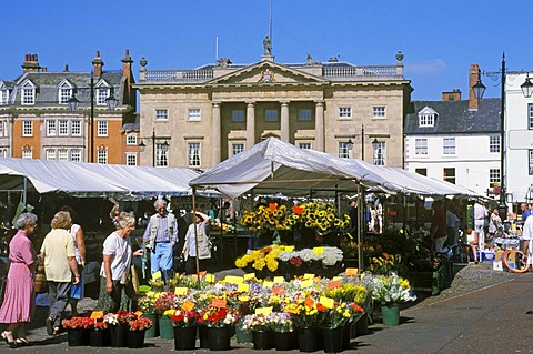 Newark on Trent Nottinghamshire England Geatbritain market place butter market