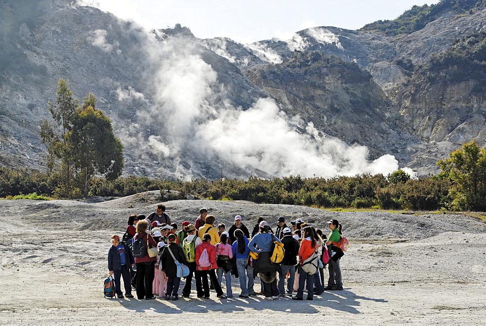 Solfartara crater Pozzuoli Campania Italia Italy