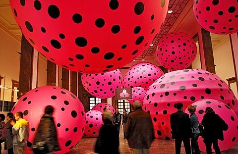 Yayoi Kusama, dots obsession, Haus der Kunst, Munich, Bavaria, Germany