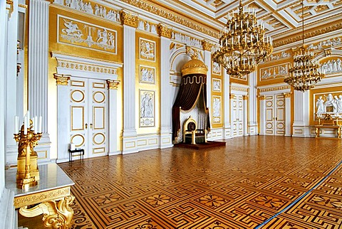 Throne Room, Residenz, Munich, Bavaria, Germany