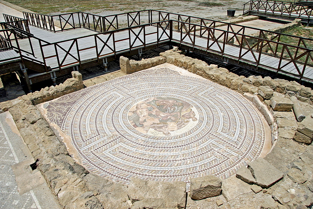 Mosaics of Paphos, Cyrus