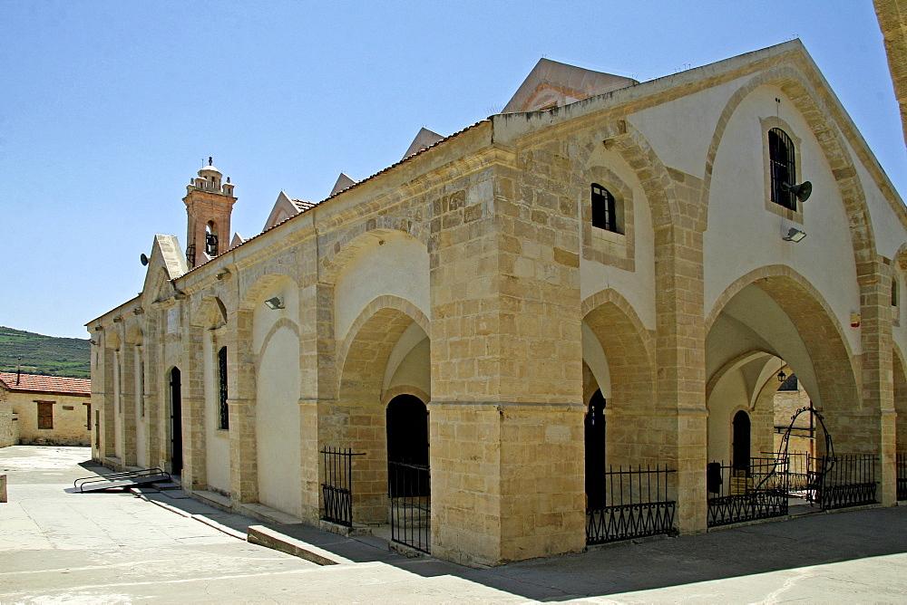 Timiou Stavrou Church, Omodos, Cyprus, Europe