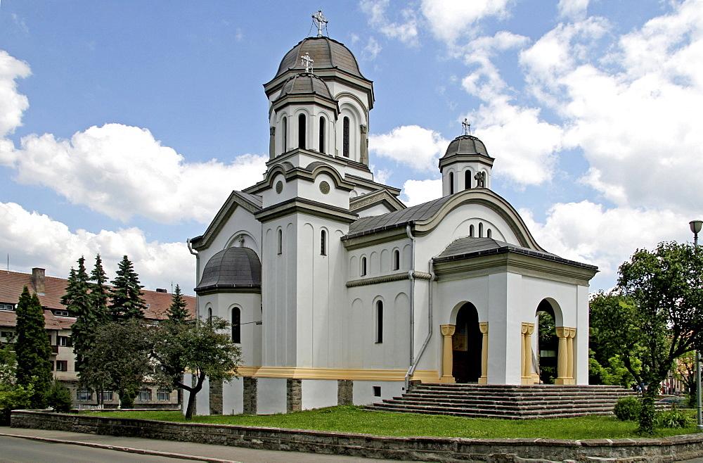 Romanian Orthodox Church, Miercurea-Ciuc, Szeklerburg, Transylvania, Romania, Europe
