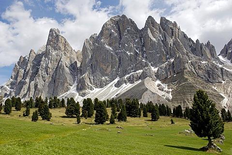 Geisler Spitzen, Geisler mountain, Dolomite Alps, Dolomites, South Tyrol, Italy