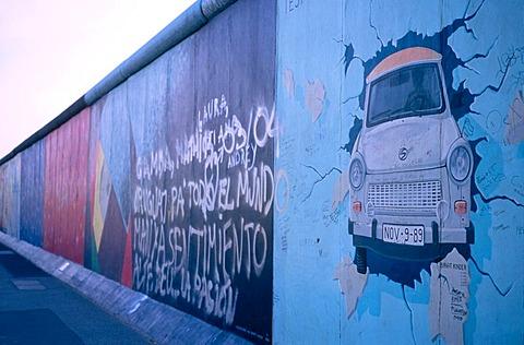 Berlin Wall graffiti, Berlin, Germany