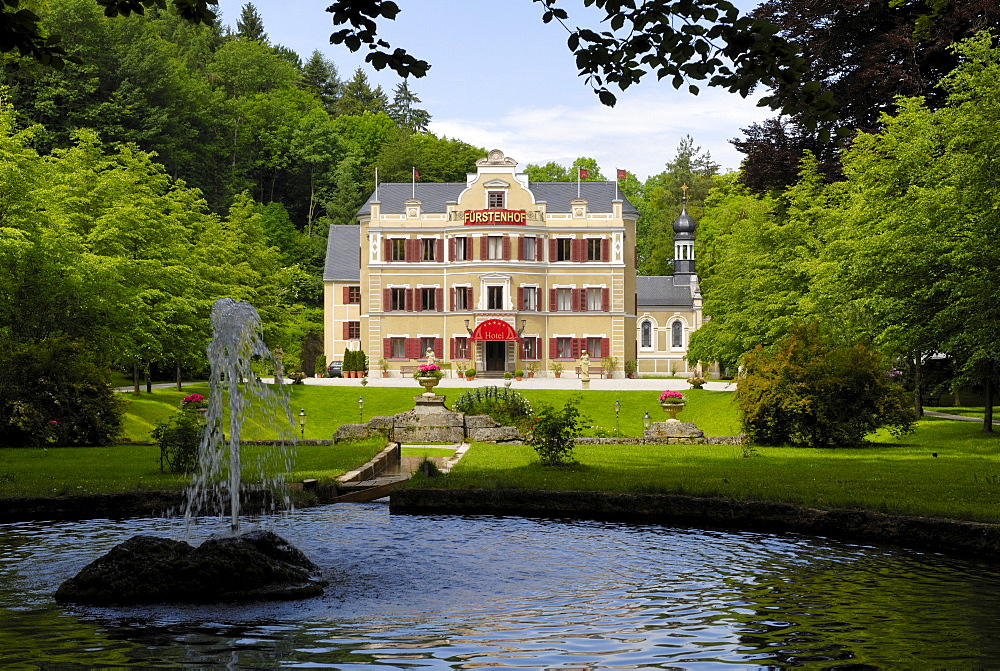 Fuerstenhof, filming location for the German TV series Sturm der Liebe, Vegan, Bavaria, Germany