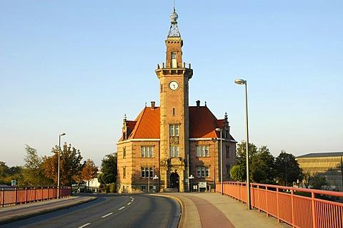 Port authority, Dortmund, North Rhine-Westphalia, Germany