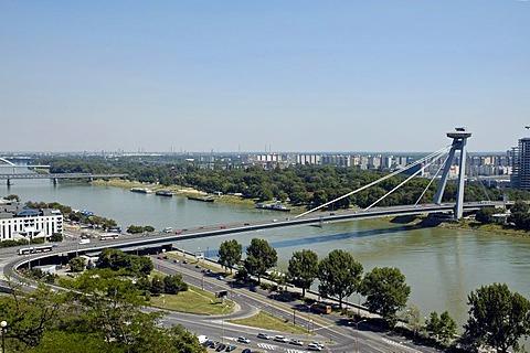 New bridge, Novy most, Bratislava, Slovakia