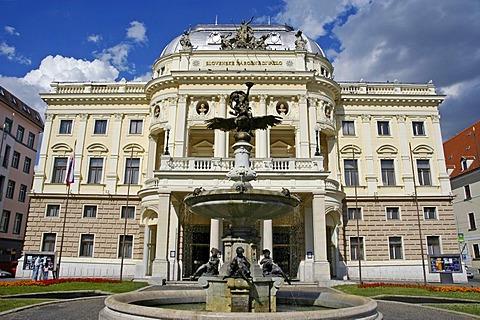 Old Slovak National Theatre building, Bratislava, Slovakia