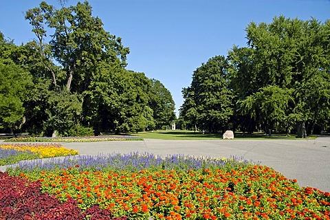 Municipal park, Bratislava, Slovakia