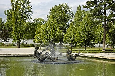 Sculpture, Grassalkovich palais gardens, Bratislava, Slovakia
