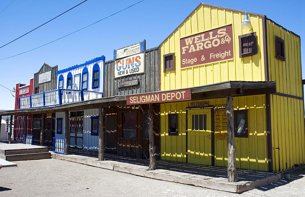 Seligman on the Route 66, Arizona, USA