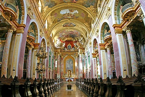 Church of the Jesuits in the first district of Vienna Austria