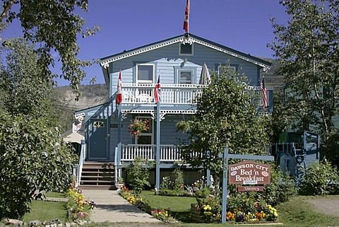 A cosy Bed and Breakfast in Dawson Yukon Territory Canada