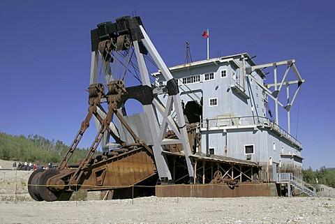 Gold Dredge #4 Dawson Yukon Territory Canada