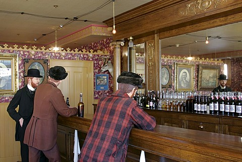 An old saloon from the gold rush days of Skagway Alaska USA
