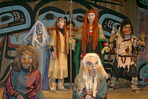 New Chilkat Dancers¥ Storytelling Theater Show Alaska USA