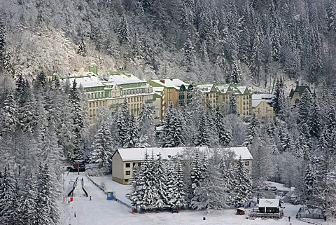Hotel Panhans on the Semmering in Lower Austria