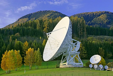 Ground communication station in Aflenz Styria Austria