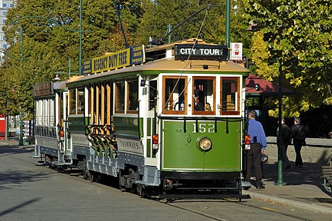 Tramway in Christchurch New Zealand - 832-283561