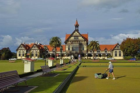 Museum of Art and History in Rotorua New Zealand