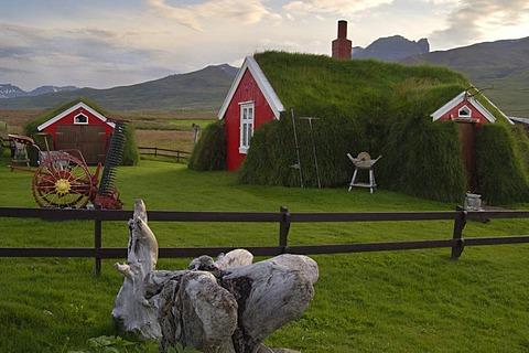 The house called Lindarbakki in the village Bakkageri Iceland