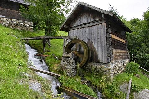 Mill museum the 7 mills, Pfarrwerfen, Salzburg, Austria